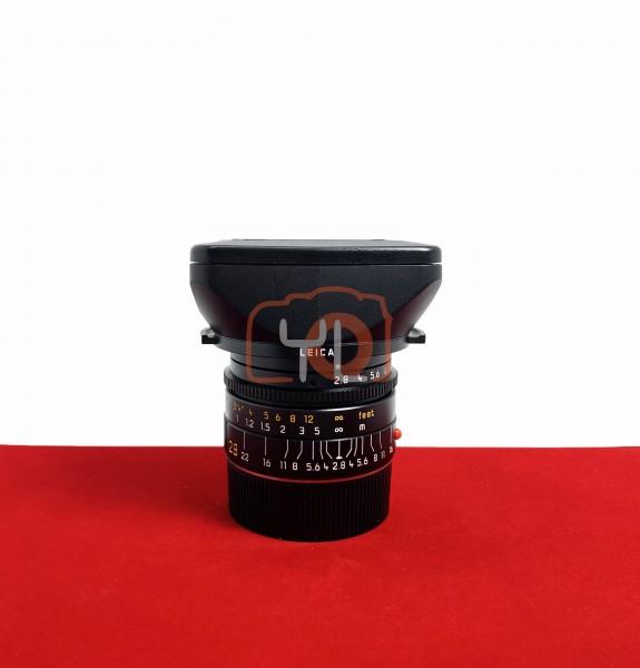 [USED-PJ33] Leica 28MM F2.8 Elmarit-M Pre ASPH V4 Lens, 95% Like New Condition (S/N:3671078)