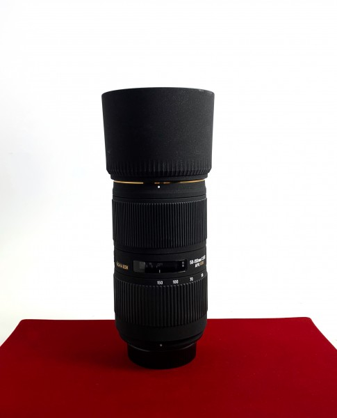 [USED-PJ33] Sigma 50-150MM F2.8 APO II DC HSM (Nikon), 98% Like New Condition (S/N:10242407)