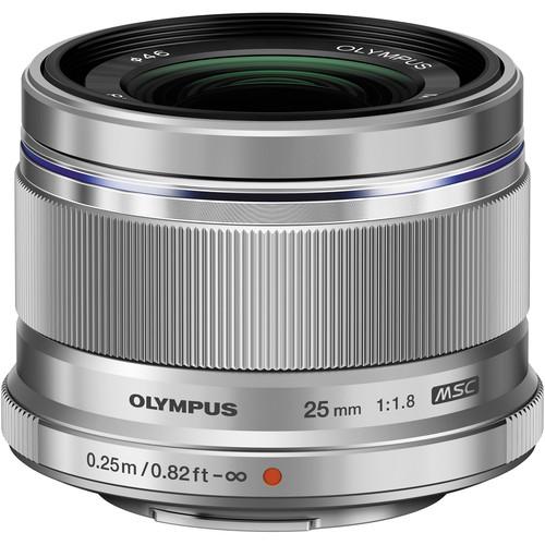 Olympus 25mm F1.8 M.Zuiko (Silver)