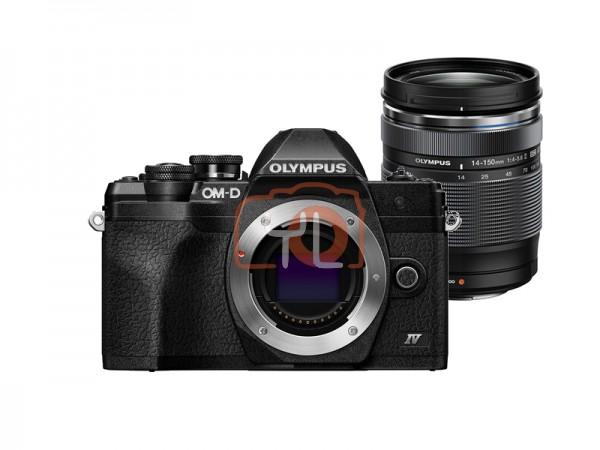 Olympus OM-D E-M10 Mark IV + M.Zuiko 14-150mm F4-5.6 II (Black)