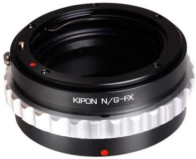 Kipon Nikon G Mount Lens to Fuji X Series Camera Lens Adapter