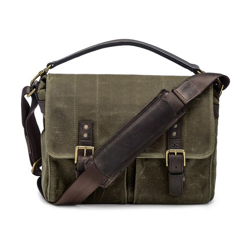 ONA Prince Street Camera Messenger Bag (Olive)
