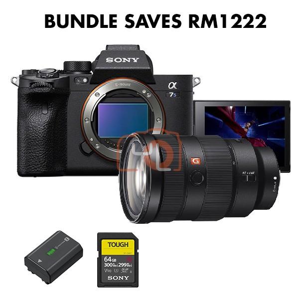 Sony a7S Mark 3 + FE 24-70mm F2.8 GM (Free NP-FZ100 + Tough 64GB SD Card)