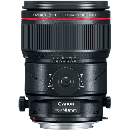 Canon TS-E 90mm F2.8 L Macro Tilt-Shift
