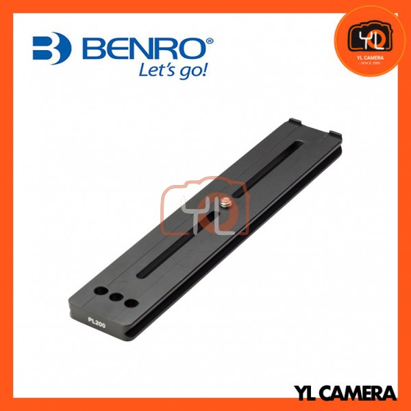 Benro PL200 Long Lens Quick Release Plate