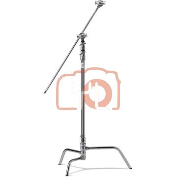 Kupo CT-40MK 101.6cm Riser C-Stand Turtle Base Kit (Silver, 2.96m)