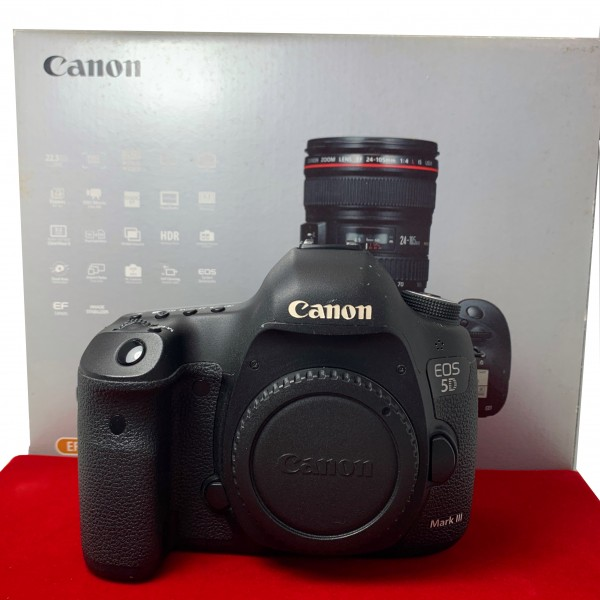 [USED-PJ33] Canon Eos 5D Mark III Body (Shutter Court : 69K), 85% Like New Condition (S/N:048023000586)