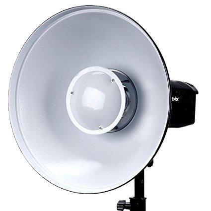 Godox BDR-W550 Beauty Dish Reflector White Bounce 55cm  Bowens mount