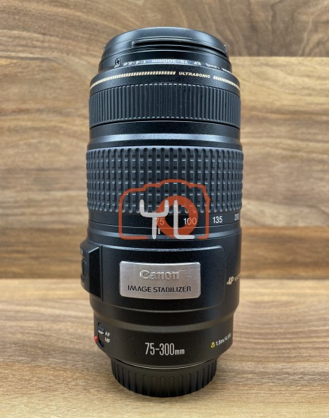 [USED @ YL LOW YAT]-Canon EF 75-300mm F4-5.6 IS USM Lens,90% Condition Like New,S/N:88202599