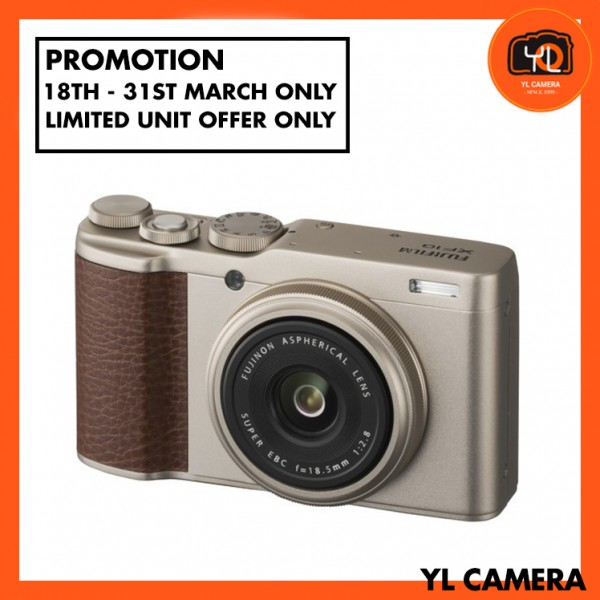 (Promotion) Fujifilm XF 10 Digital Camera (Gold) [Free 32GB SD Card]