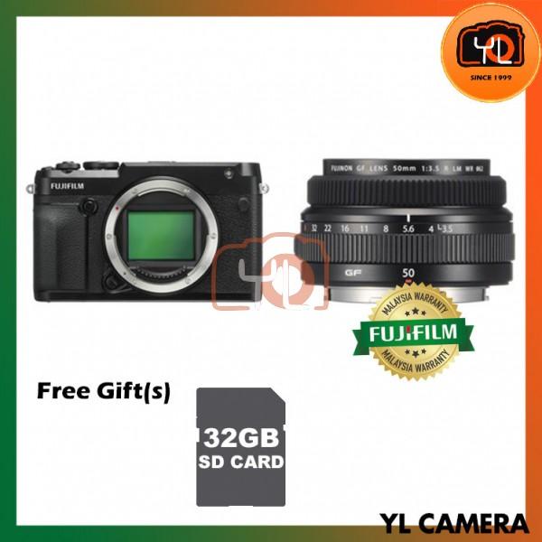 Fujifilm GFX 50R Medium Format Mirrorless Camera + GF 50mm F3.5 R LM WR [Free 32GB SD Card UHS-II]