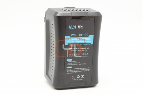 NJA WG-BP190 V-Mount Battery