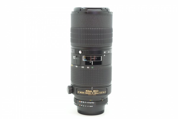 [USED-PUDU] NIKON 70-180MM F4.5-5.6 AFD MICRO ED LENS 90%LIKE NEW CONDITION SN:2007900