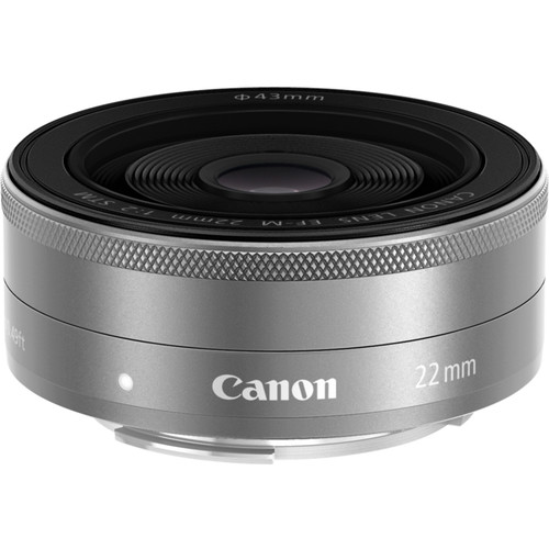 Canon EF-M 22mm F2 STM (Silver)