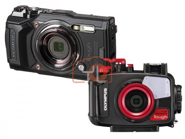 Olympus Tough TG-6 + PT-059 Underwater Housing (Black) [Free LEXAR 64GB SD Card]