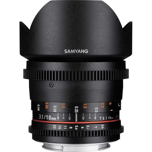Samyang 10mm T3.1 VDSLR Lens with Micro Four Thirds Mount