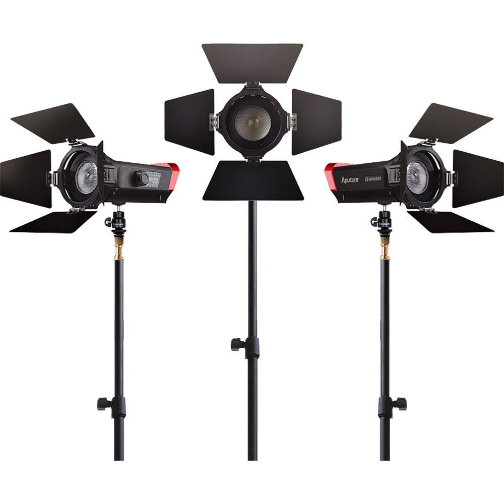 (PRE-ORDER) Aputure Light Storm LS-Mini20 (DDD) Bi-Color LED Light With Light Stand