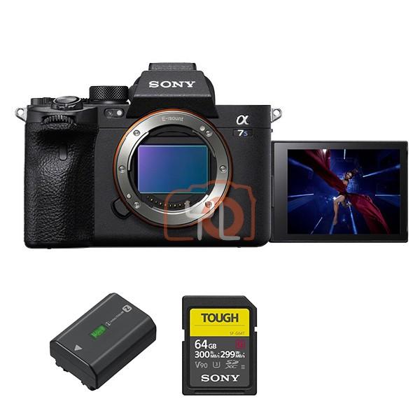 Sony a7S Mark 3 (Free NP-FZ100 + Tough 64GB SD Card)