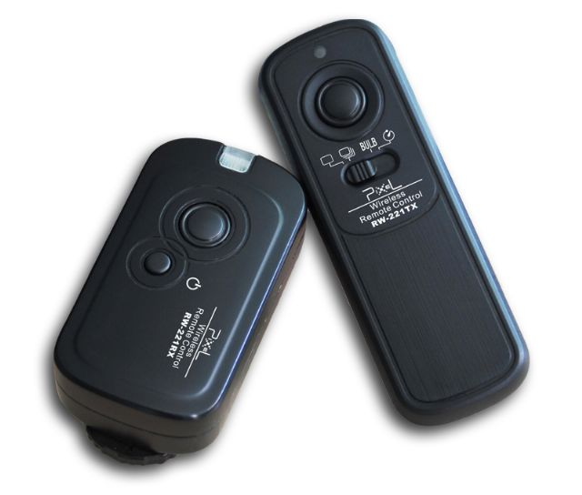Pixel Oppilas RW-221/N3 Wireless Shutter Release Remote for Canon