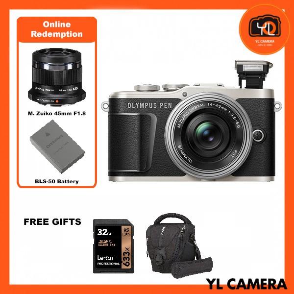 (Promotion) Olympus E-PL9 +  M.Zuiko 14-42mm EZ (Black) [Free Lexar 32GB 95MB SD Card + Benro ELZ10 Camera Bag] [Online Redemption 45mm F1.8 + Extra Battery]