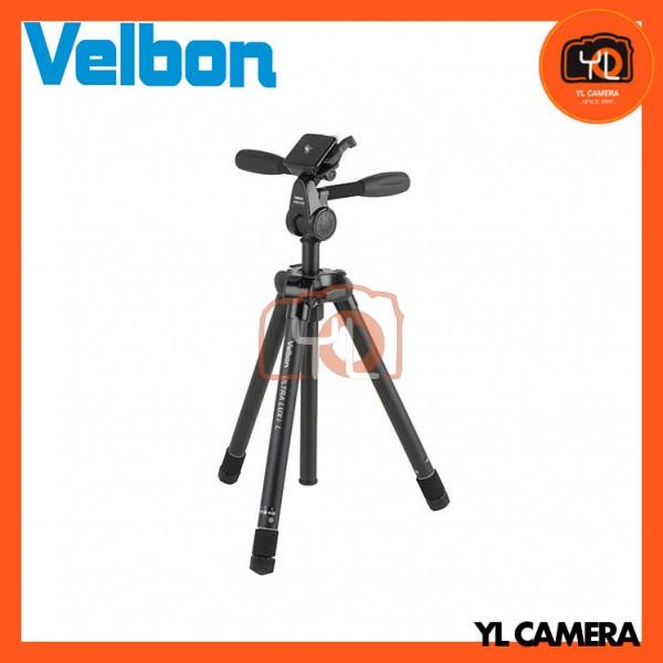 Velbon Ultra LUXi-L Tripod with PHD-41Q 3-Way Pan/Tilt Head