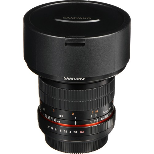 Samyang 14mm F2.8 ED AS IF UMC Lens for Olympus Four-Thirds