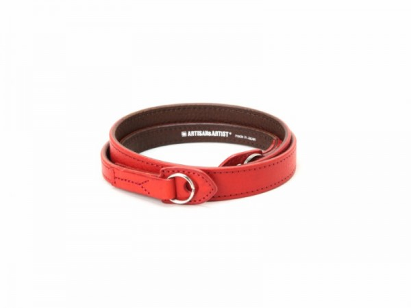 Artisan & Artist ACAM-283 Leather Camera Strap (RED)