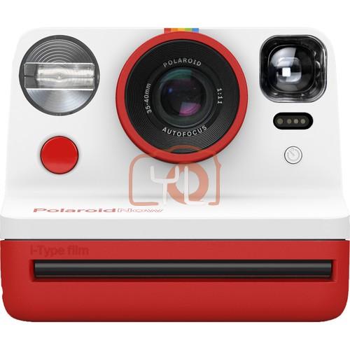 Polaroid Now Instant Film Camera (Red)