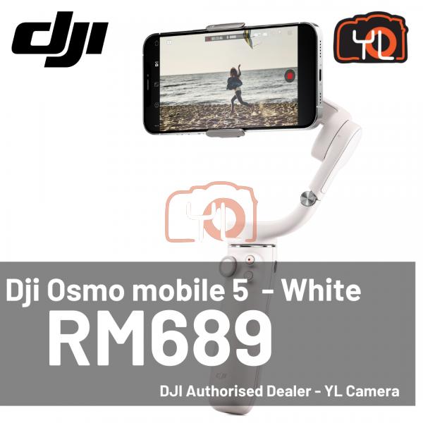 DJI Osmo Mobile 5 Smartphone Gimbal (Sunset White)
