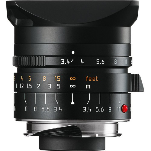 Leica 21mm F3.4 Super-Elmar-M ASPH. - Black (11145)