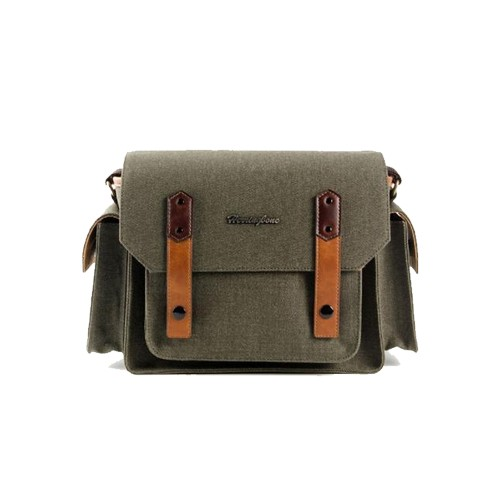 (SPECIAL DEAL) Herringbone Papas Pocket V3 Medium Camera Bag (Olive)