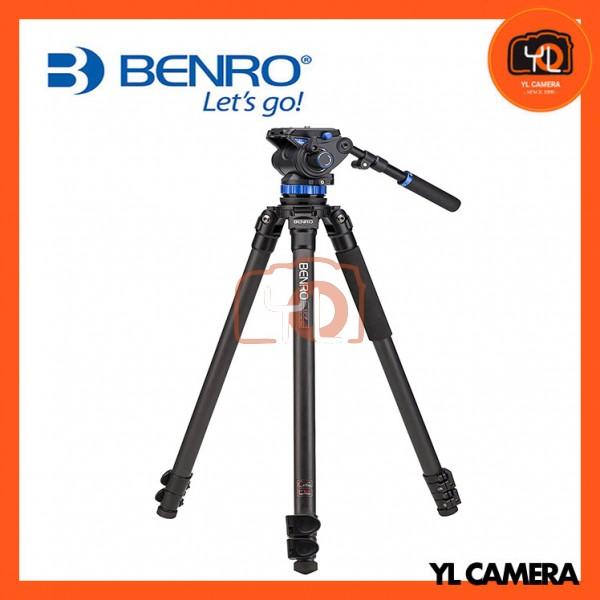 Benro C373FBS7 S7 Video Head and CF Flip Lock Legs Carbon Fiber Video Tripod Kit