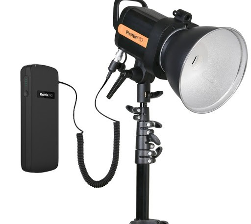 (Special Deal) Phottix Indra 360 TTL Studio Light and Battery Pack Kit