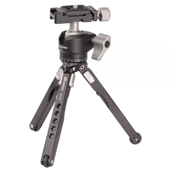 Leofoto MT-03 W/ LH-25 Mini Table Tripod Kit