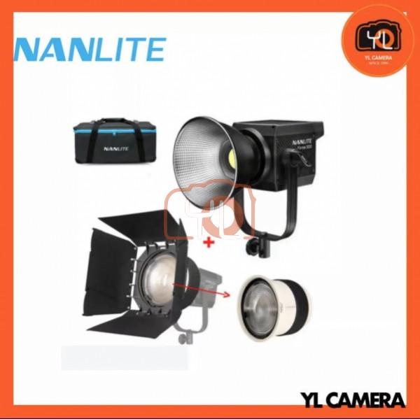 Nanlite Forza 500 LED Monolight With FL206 Fresnel Lens