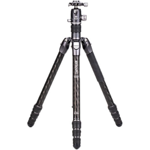 Benro FRHN34CVX30 Rhino Carbon Fiber Three Series Travel Tripod with VX30 Head