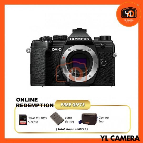Olympus OM-D E-M5 Mark III - Black [Online Redemption Extra Battery + 32GB SD Card UHS-II + Olympus Bag]