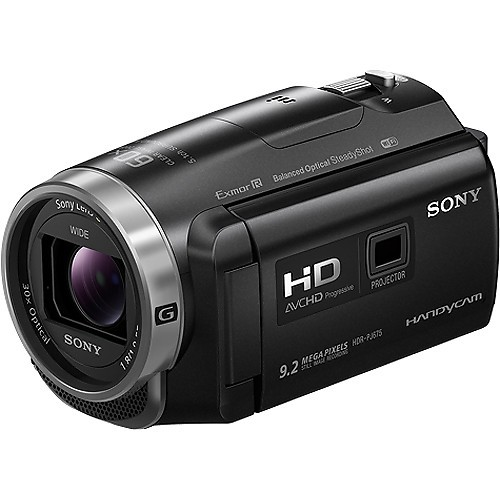 Sony HDR-PJ675 Full HD Handycam W/ Built-In Projector (Free 16GB microSD Card)