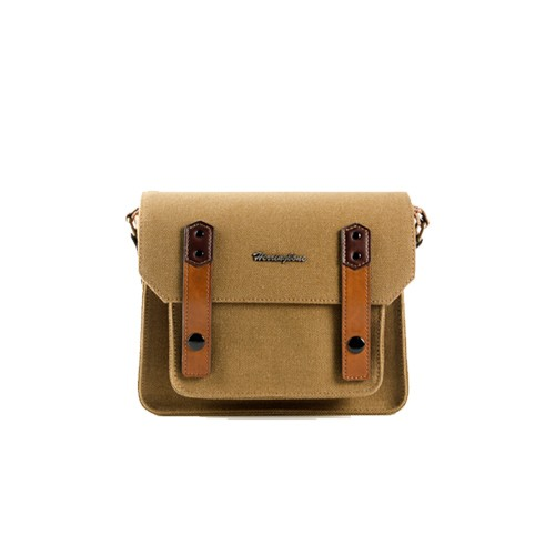 (SPECIAL DEAL) Herringbone Papas Pocket V3 Mini Camera Bag (Brown)