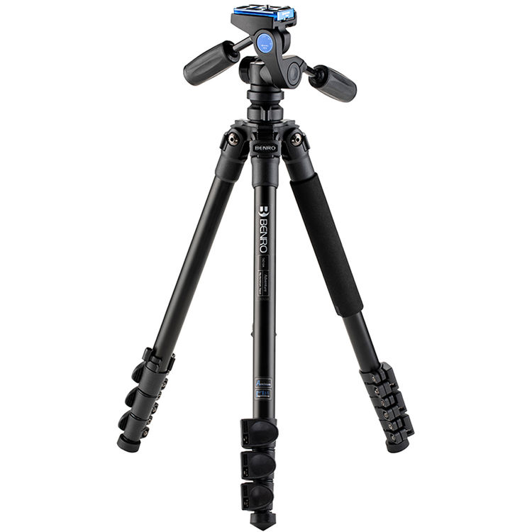 Benro TAD18AHD1A Adventure Aluminum Tripod with HD1A Pan and Tilt Head