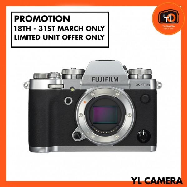 (Promotion) Fujifilm X-T3 (Silver) [Free 32GB SD Card UHS-II]