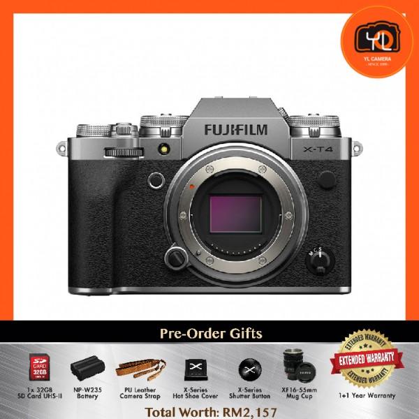 (Pre-Order) Fujifilm X-T4 - Silver