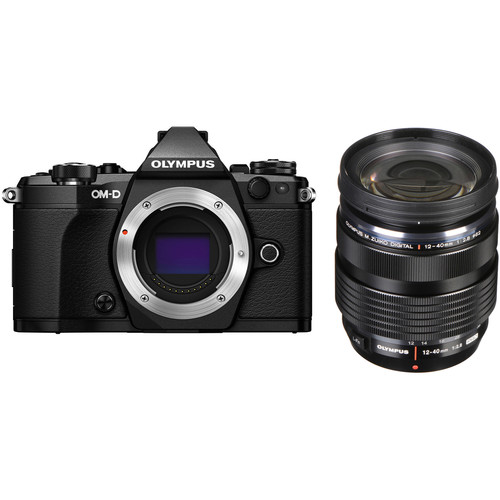 Olympus OM-D E-M5 Mark II + M. Zuiko 12-40mm F2.8 PRO - Black (Free Lexar 64GB SD Card 150MB)