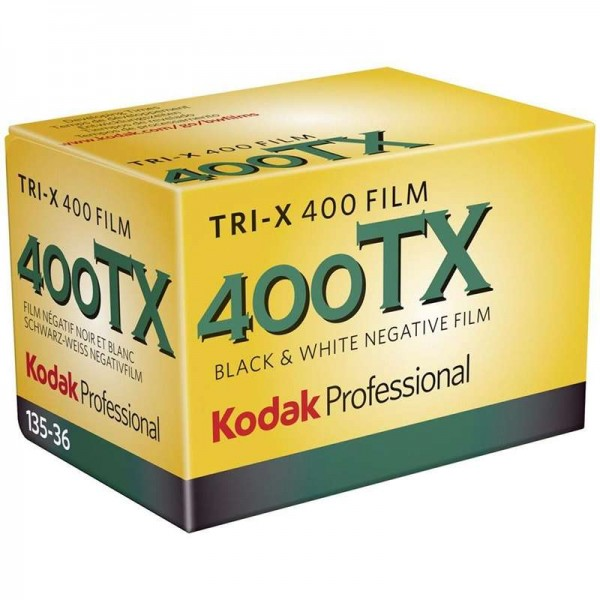 Kodak Professional Tri-X 400 Black and White Negative Film (35mm Roll Film)