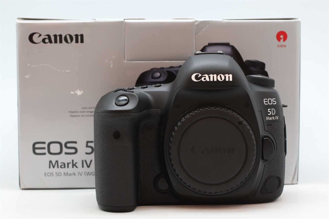 [USED-PUDU] CANON EOS 5D MARK IV CAMERA BODY 95%LIKE NEW CONDITION  SN:174056002305