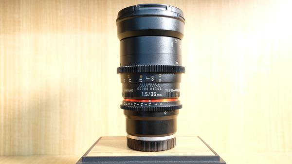 (USED LOWYAT) SAMYANG 35MM T1.5 AS UMC II LENS FOR SONY E-MOUNT ,88% LIKE NEW,S/N: D316H0005