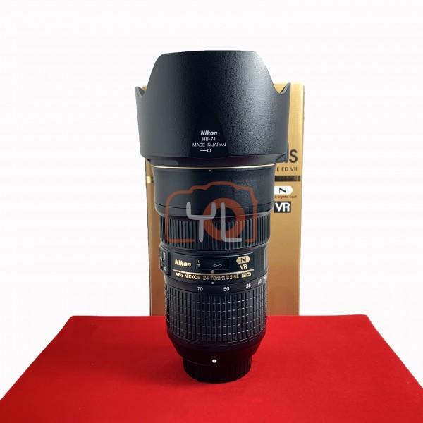 [USED-PJ33] Nikon 24-70mm F2.8 E VR ED AFS , 95% Like New Condition (S/N:2015238)