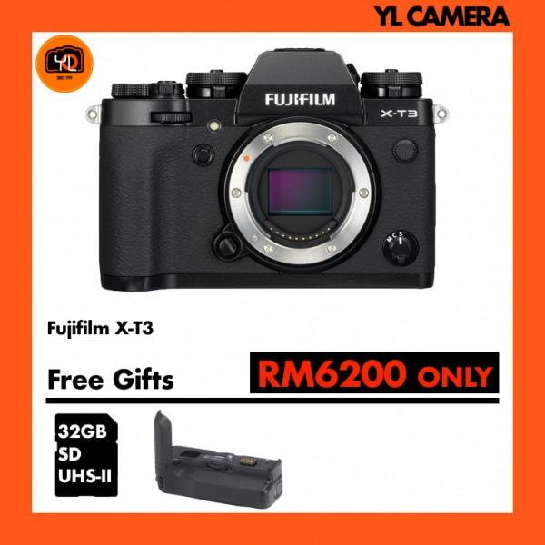 Fujifilm X-T3 W/ Vertical Battery Grip (Black)