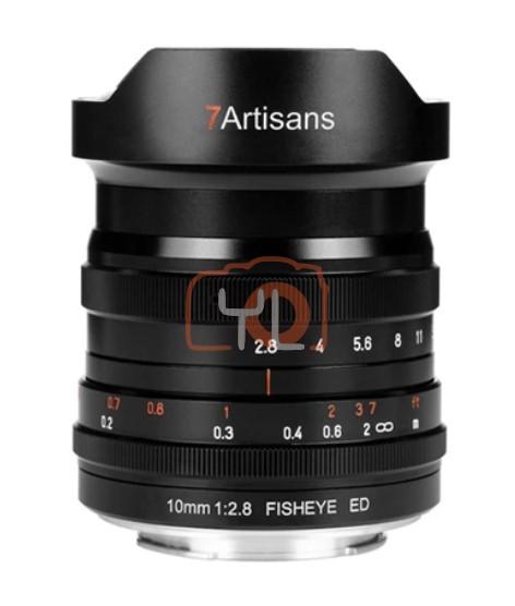7artisans 10mm F2.8 Fisheye ED Lens