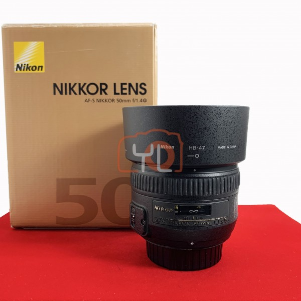[USED-PJ33] Nikon 50MM F1.4 G AFS, 85% Like New Condition (S/N:675975)